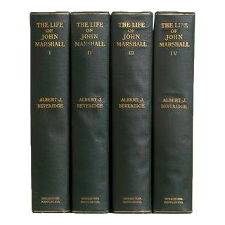 1910s The Life of John Marshall Gift Set (S/4) For Sale