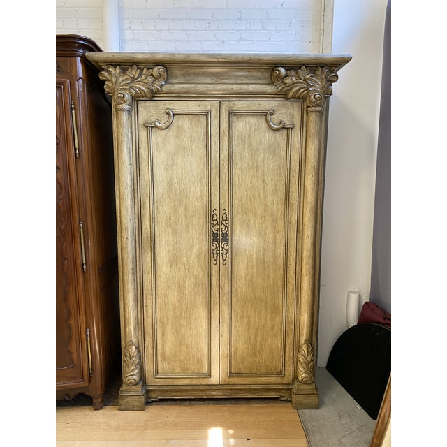 Artifacts International Italian Neoclassical Armoire For Sale - Image 10 of 10