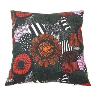 """Marimekko Siirtolapuutarha """"City Garden"""" Indoor Outdoor Pillow For Sale"""