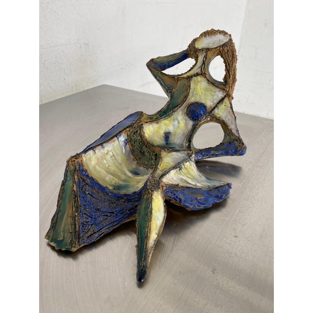 Mid Century Marcello Fantoni for Raymor Female Figural Sculpture For Sale - Image 9 of 9