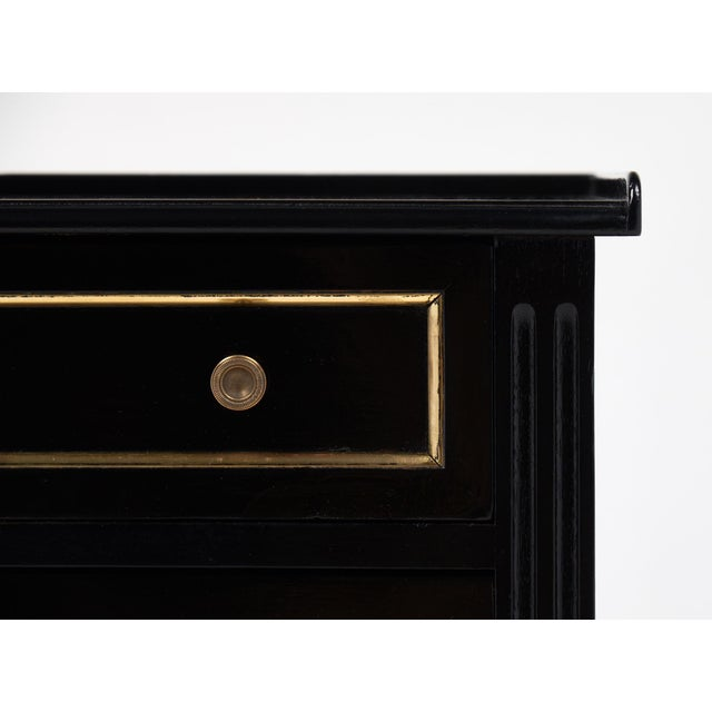 Antique Louis XVI Side Table with Drawers - Image 8 of 10