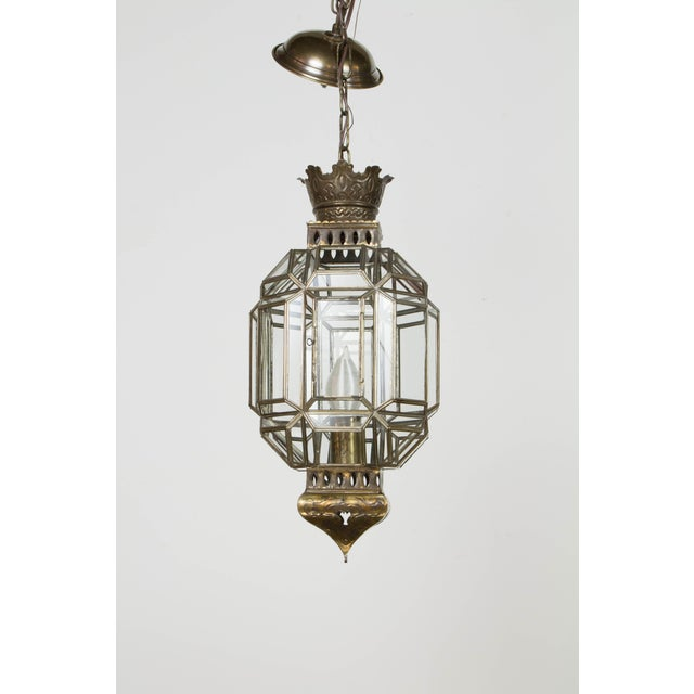 Mexican Tin Lantern For Sale - Image 9 of 9