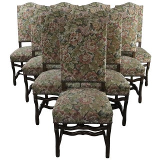 Dining Chairs Sheepbone Beech Wood Vintage - Set of 10 For Sale