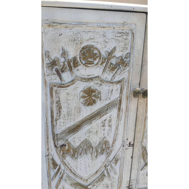 English Country Painted Cabinet - Image 2 of 8
