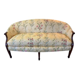 Vintage Mid Century French Loveseat For Sale