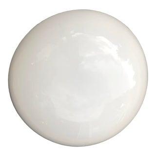 Aquarius Mirrorworks Full Moon Half-Globe Over Faux Slate Wall Lamp For Sale