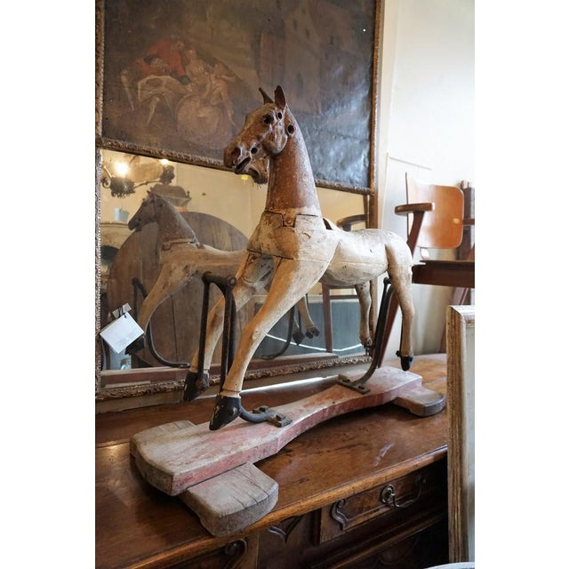 19th Century Wooden Horse For Sale - Image 10 of 11