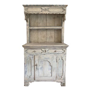 Antique Shabby Chic Swedish Display Unit For Sale