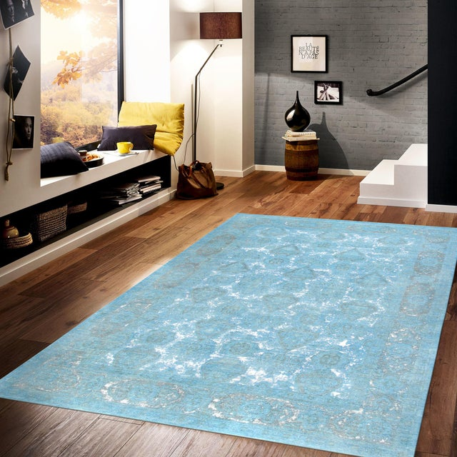"""Contemporary Pasargad Overdye Wool Area Rug - 9'9"""" X 13'5"""" For Sale - Image 3 of 3"""