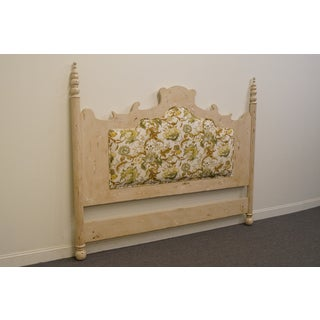 Late 20th Century Vintage Guild Master Shabby Chic King Size Headboard Preview