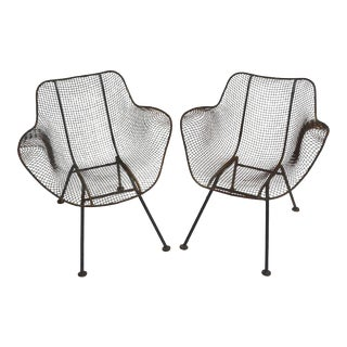 Pair of Russell Woodard Sculptura Chairs For Sale