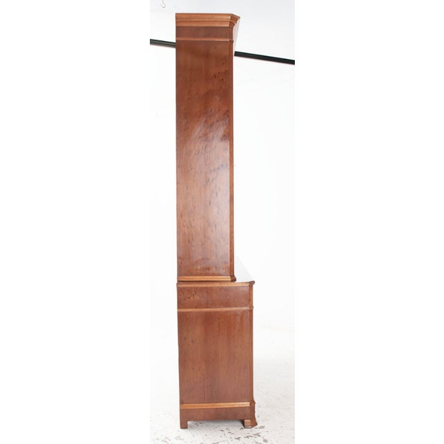 French 19th Century Louis Philippe Mahogany Buffet a Deux Corps For Sale In Baton Rouge - Image 6 of 7