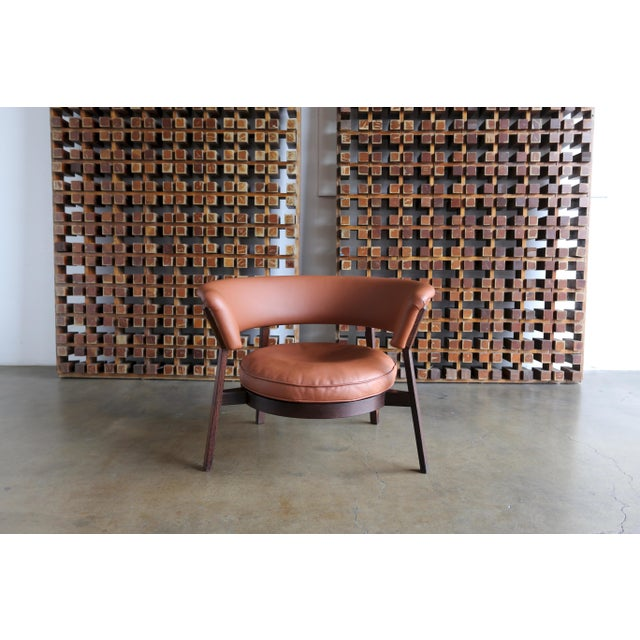 Vintage Mid Century Rare Eugenio Gerli P28 Lounge Chair for Tecno For Sale - Image 12 of 12