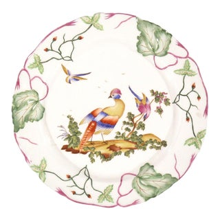 Late 20th Century Vintage Decorative Bird Plates For Sale