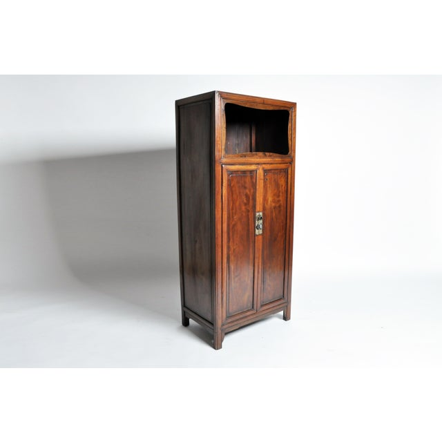 Chinese Cabinet with Display Shelf For Sale - Image 4 of 11