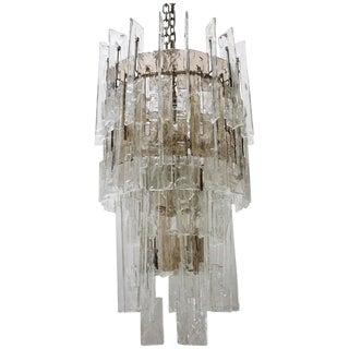 Italian Murano Glass Links Chandelier by Mazzega