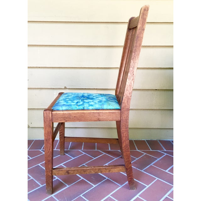 Mission Dining Chairs - A Pair - Image 4 of 10