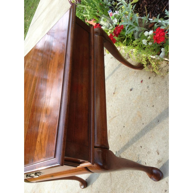 Amish Made Solid Cherry Side Table For Sale - Image 4 of 13