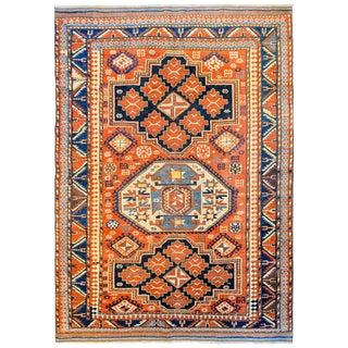 Extraordinary Late 19th Century Kazak Rug For Sale