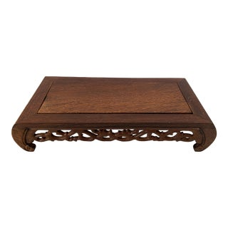 Asian Solid Wood Standith For Sale