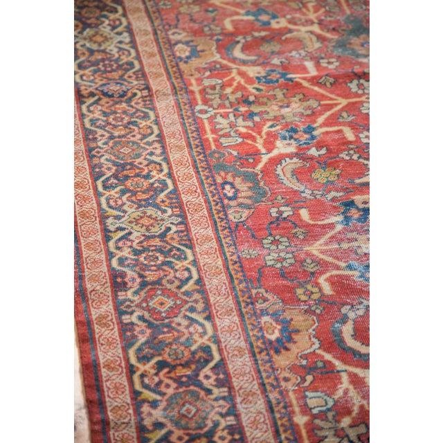 "Antique Persian Mahal Carpet - 7'1"" x 10'1"" - Image 5 of 9"