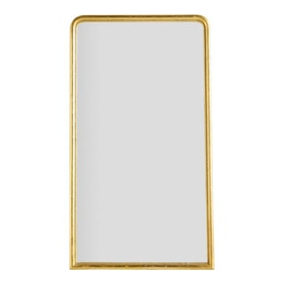 Mid 20th Century Louis Philippe Style Gilt Mirror For Sale