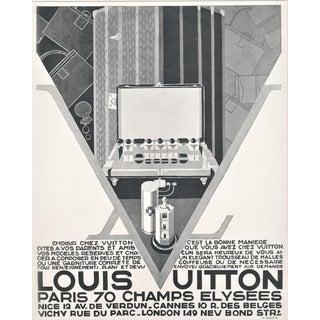 Matted Art Deco Louis Vuitton Advertisement Print For Sale