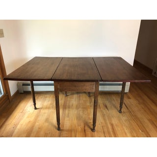 Country Federal Style Drop Leaf Table Preview