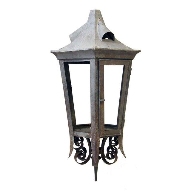 Vintage Exterior Lantern For Sale - Image 5 of 6