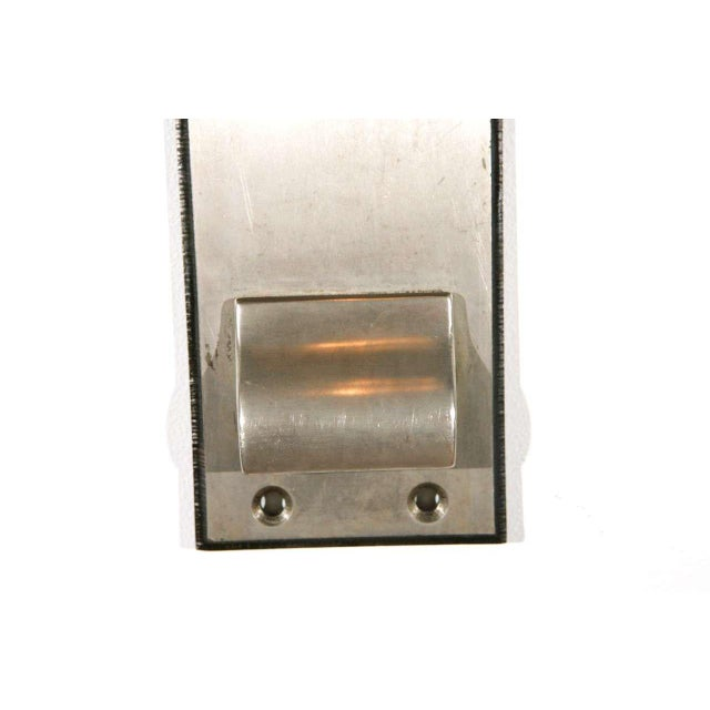 American Cast Nickel-Plated Doorplates For Sale - Image 3 of 6