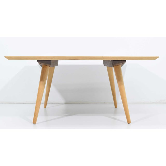 Tan Paul McCobb Planner Group Maple Coffee Tables - a Pair For Sale - Image 8 of 11