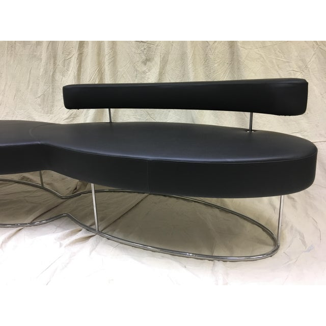 "Gordon International Jacob Pringiers ""Twice"" Bench With Back For Sale - Image 4 of 5"