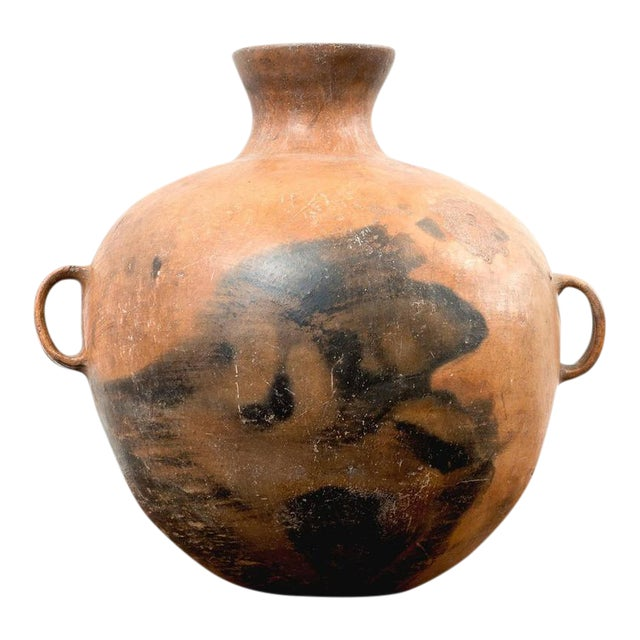 Large 19th Century Guatemalan Water Pot With Three Handles For Sale - Image 10 of 10