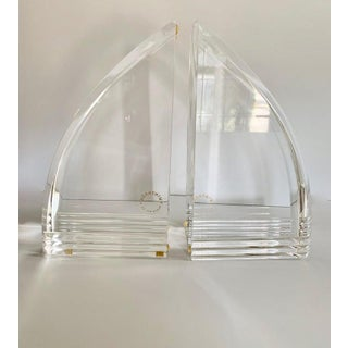 Acrylic Lucite Bookends Preview