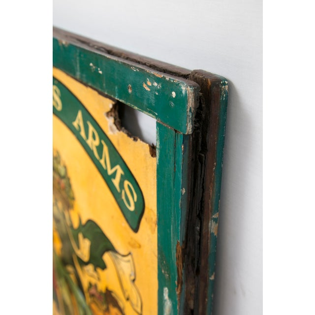"""English """"Gardeners Arms"""" Pub Sign - Image 6 of 7"""