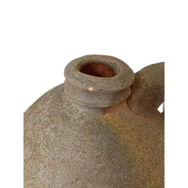 Rustic Vintage Kirke Martin Textured Ceramic Jug For Sale - Image 3 of 6