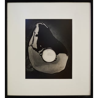Abstract Black and White Photograph