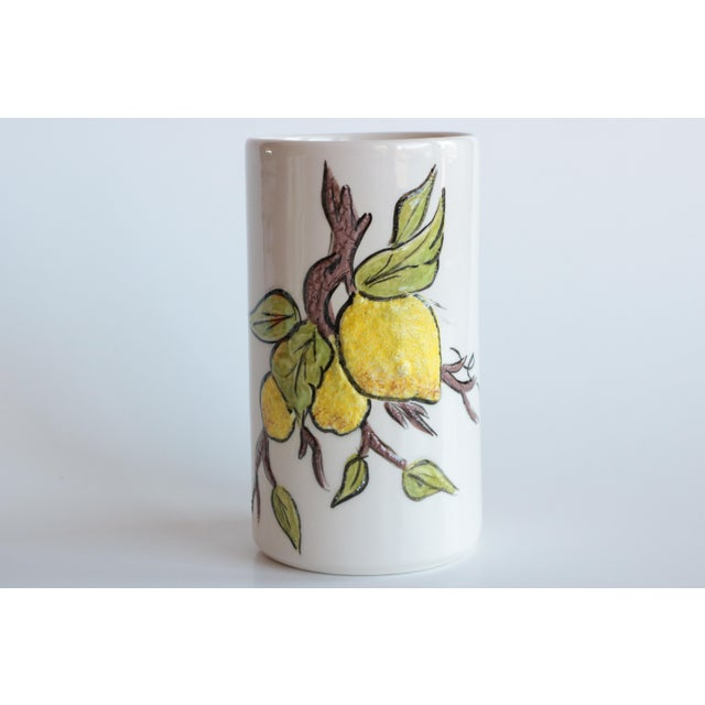 Lemon Branch Pitcher and Tumblers - Set of 6 For Sale - Image 5 of 11