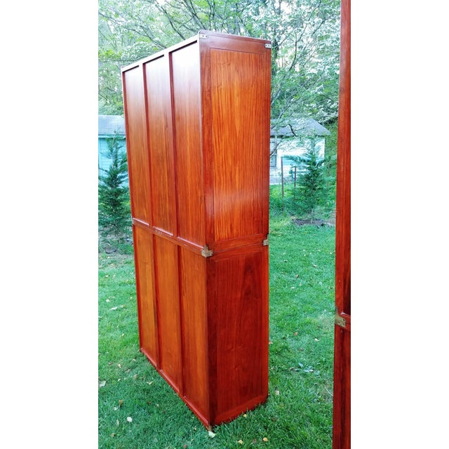 Starbay Rosewood Marco Polo Bookshelf Bookshelves - a Pair For Sale - Image 9 of 12