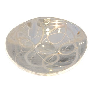 Orrefors Oval Decorative Dish