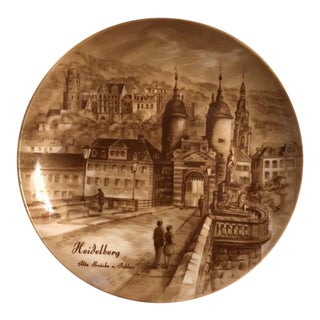 Ak Kaiser W Germany Decorative Plate For Sale