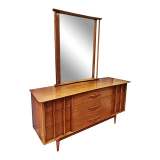 Kent Coffey Foreteller Dresser & Mirror
