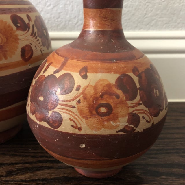 Boho Chic Boho Chic Mexican Water Jugs - a Pair For Sale - Image 3 of 9