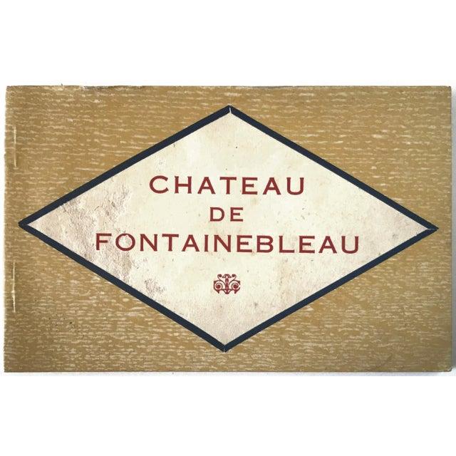 French Chateau De Fontainbleau Souvenir Postcard Book For Sale - Image 11 of 11