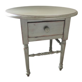 Shabby Chic Eddy West Side Table For Sale