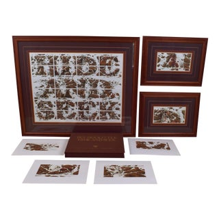 "Bev Doolittle ""Hide and Seek"" Lithographs - Set of 7 For Sale"