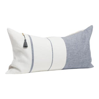 Majorca Blue Long Pillow