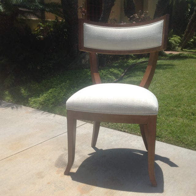 Modern Mid Century Style Klismos Dining Chair - Image 2 of 7