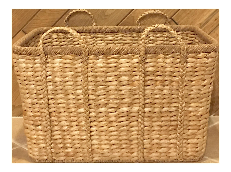 Large Rectangular Storage Basket For Sale