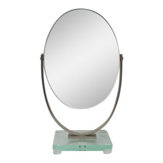 Charles Hollis Jones Oval Dressing Table Mirror For Sale